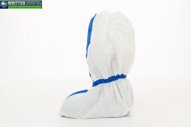 """W2506-XL ViroGuard® 2, White Boot Cover, Taped Seams, Elastic Ankle & Top, Skid Resistant Sole, 23"""" (W2506-XL)"""