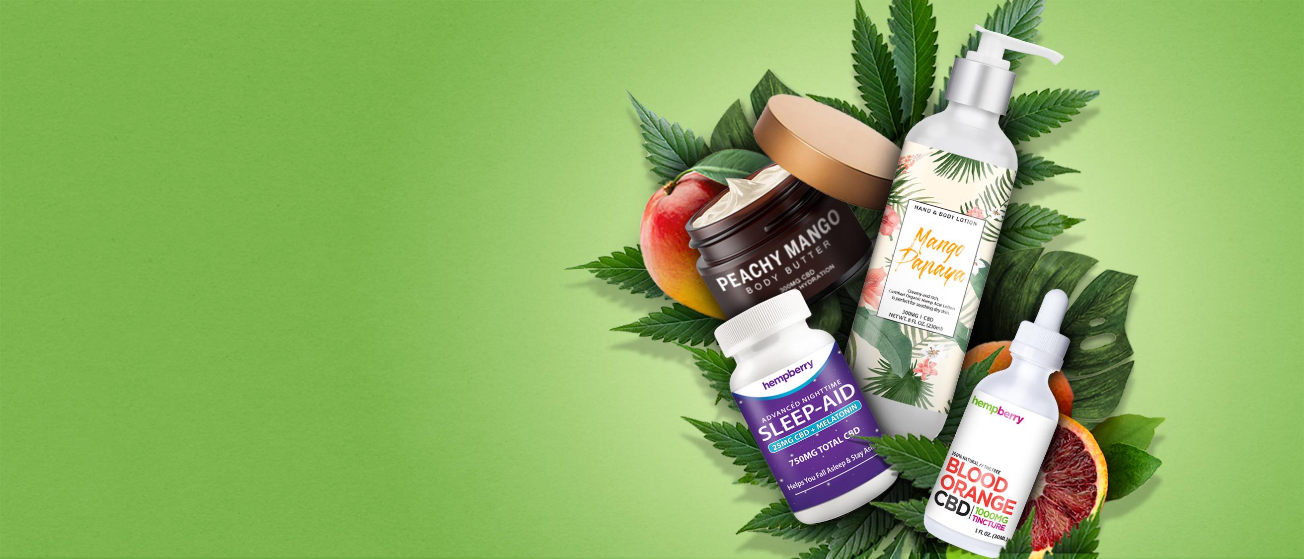 Hemp Berry Pure CBD Products
