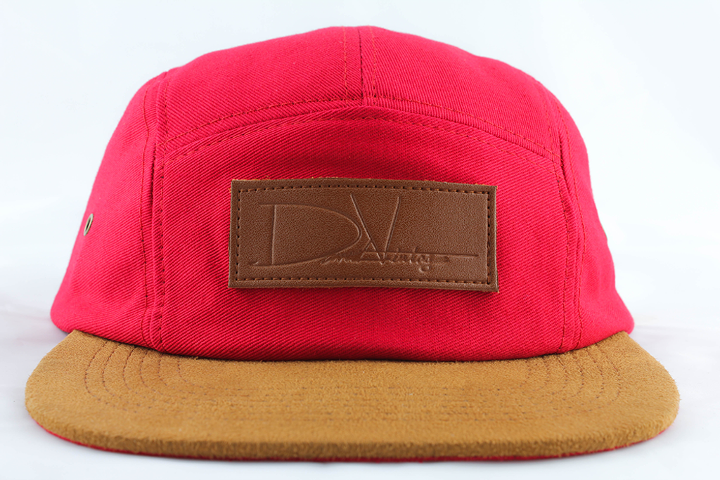 c660541402d8 Woodbridge Hat - Red Cotton - David Vintage