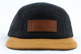 Woodbridge Hat - Black Canvas