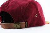 Woodbridge Hat - Burgundy Corduroy
