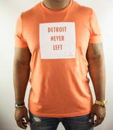 Detroit Never Left™ Tee - Heather Orange