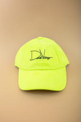 Indian Village Dad Hat - Electric Yellow Suede