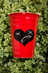 Heart of a Monsta Party Cup