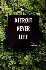 Detroit Never Left™ Coaster