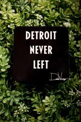 Detroit Never Left™ Coaster