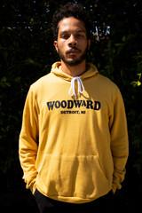 Woodward Unisex Hoodie - Mustard