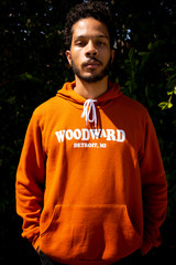 Woodward Unisex Hoodie - Burnt Orange