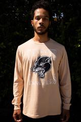 Detroit Black Panthers  Unisex L/S - Tan