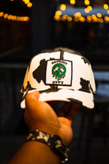 Detroit City Peace Slime - Cow/Kelly Green (Dad Hat)