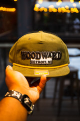 Basic Woodward  - Military Green (Captains Hat)