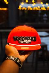 Basic Woodward  - Red (Captains Hat)