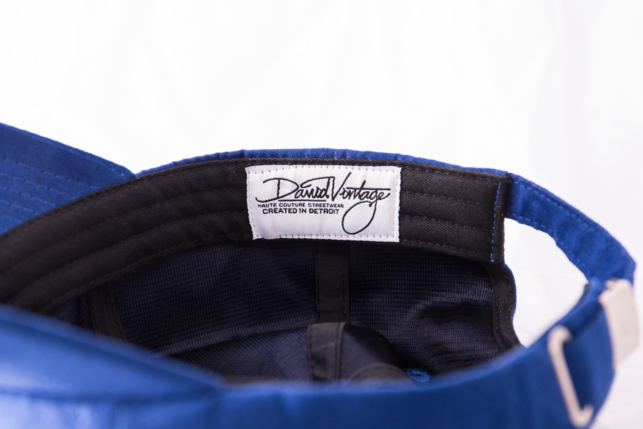 a9a49418 Indian Village Dad Hat - Blue Suede - David Vintage