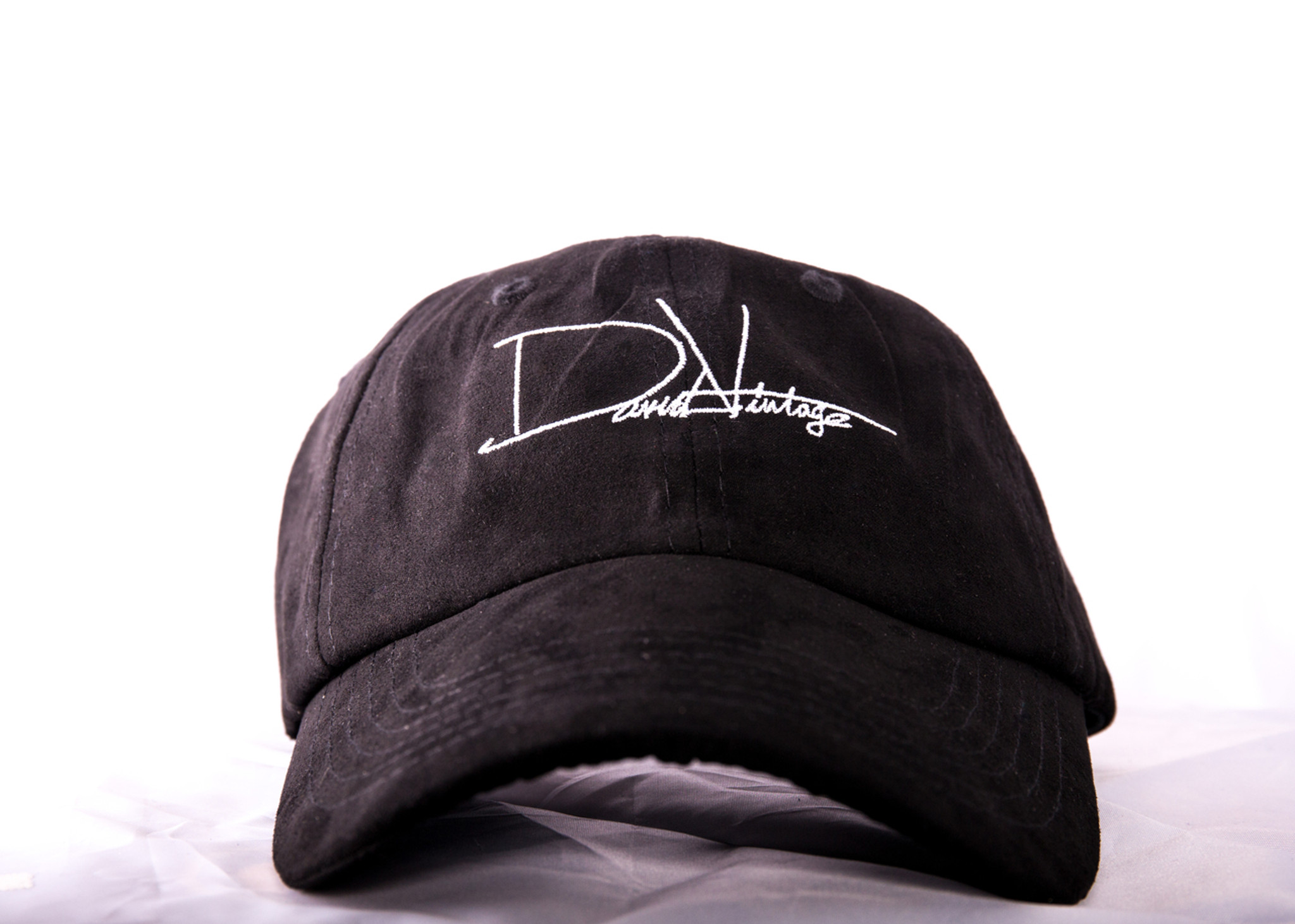 e09242f458 Indian Village Dad Hat - Black Suede - David Vintage