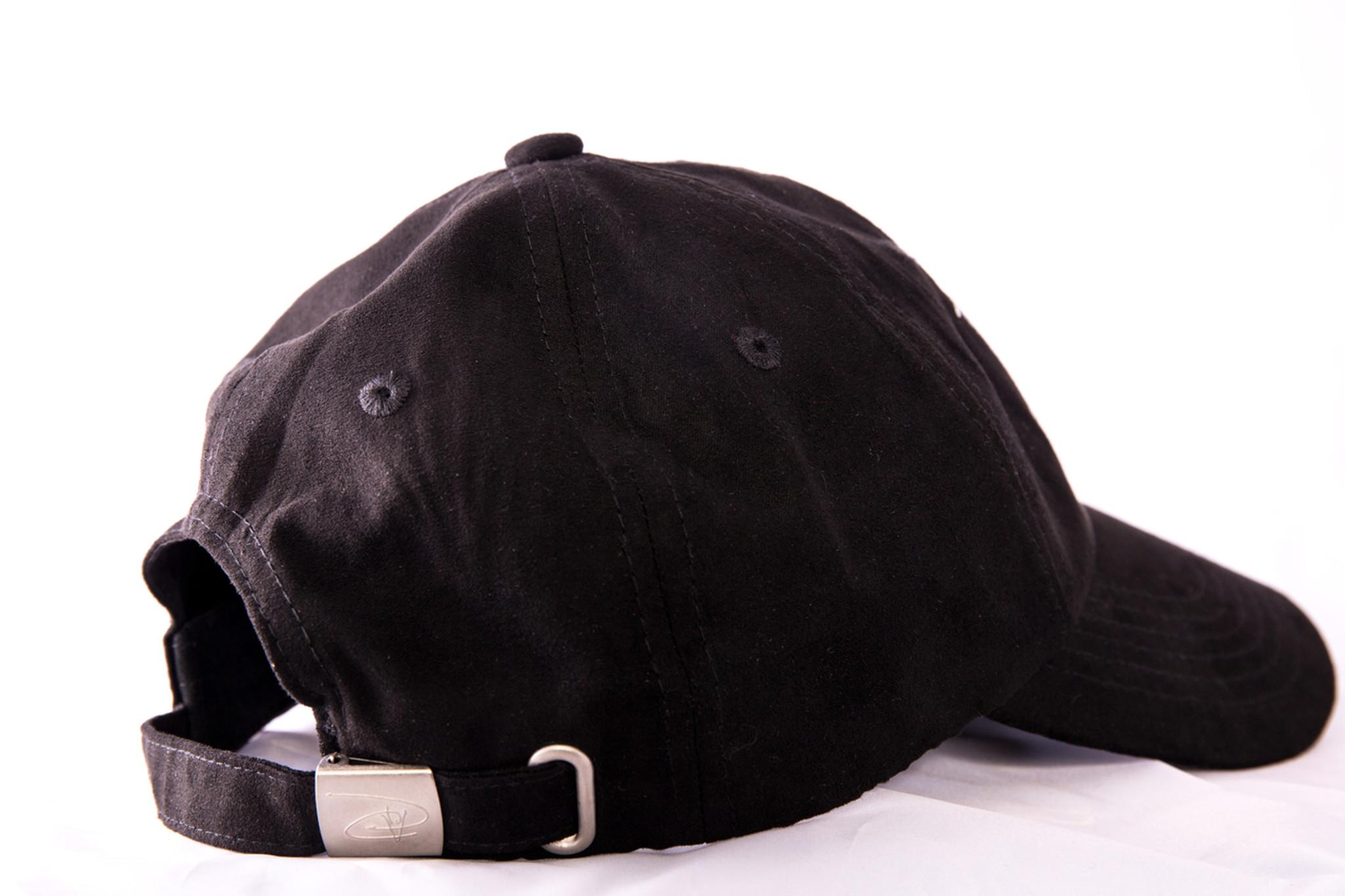 ae636477 Indian Village Dad Hat - Black Suede - David Vintage