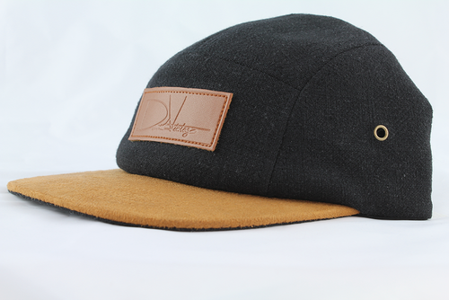 Woodbridge Hat - Black Canvas