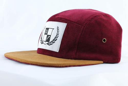 Woodbridge Hat - Burgundy Corduroy