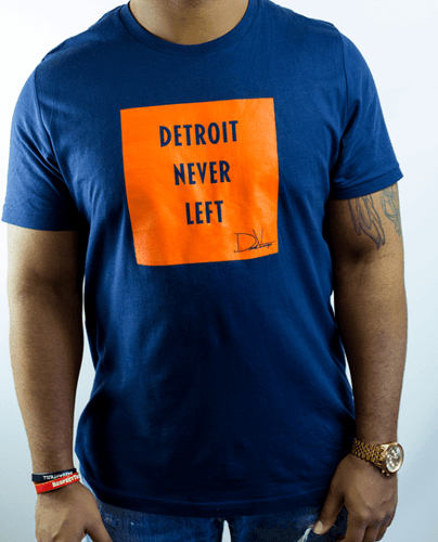 Detroit Never Left™ Tee – Tigers