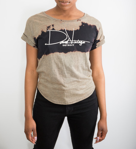 Signature Hand Stained Dolman w/ Rolled Sleeve (Wmns)