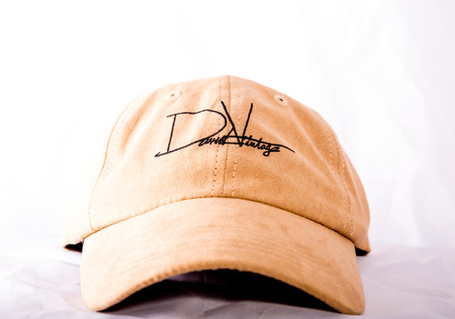 Indian Village Dad Hat - Tan Suede