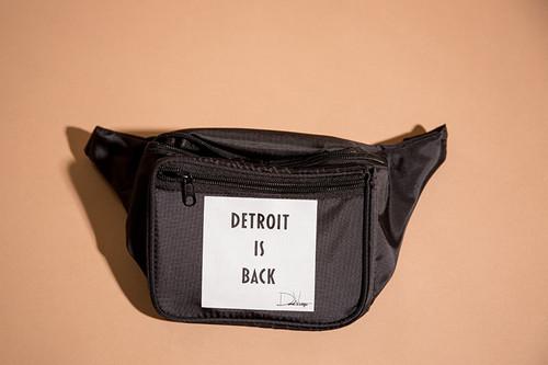 DETROIT IS BACK™  FANNY PACK - BLACK