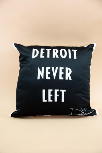 Detroit Never Left™ & Heart of a Monsta Pillow