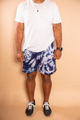 DV x DyeWrkShp Hand Dyed Shorts - Space Ocean
