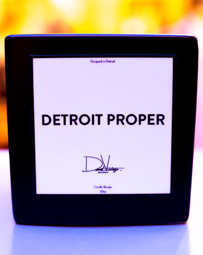 Detroit Proper Candle (20oz.)