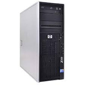 HP Z400 Grade B Intel Xeon W3565 X4 3.2GHz 8GB 1TB Win7, Black (Refurbished)