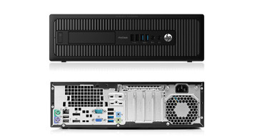 HP 600 G2 ProDesk Desktop SFF G4400 3.3GHZ 4GB 500GB HDD Win 10 Pro GB