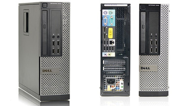 Dell 7010 optiplex SFF i3 3220 3.3GHZ 4GB 500GB HDD WIN 7 Pro