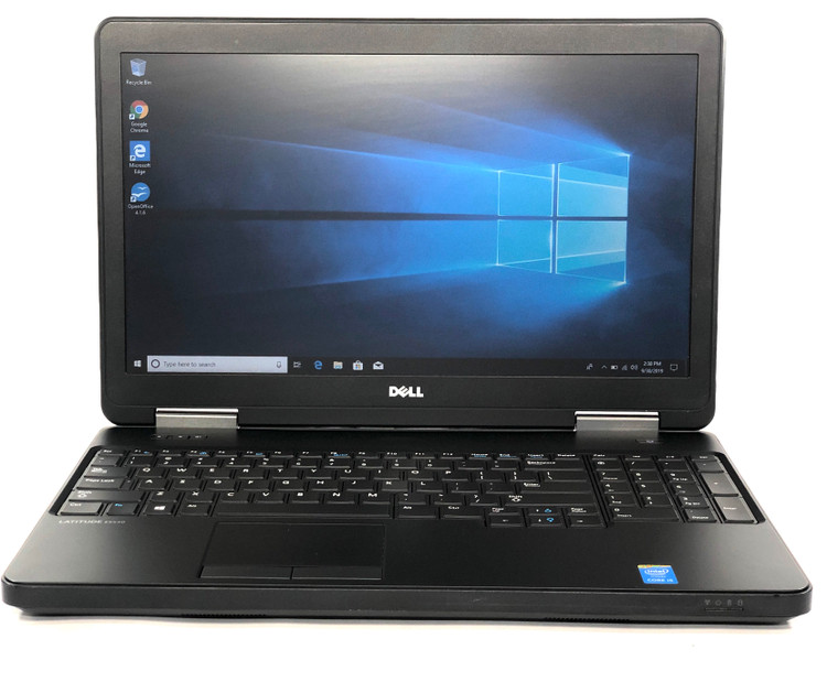 "Dell Latitude E5540 Laptop 15.6"" I5 4310u 2.0GHZ 8GB 500GB WIN 10 Pro"