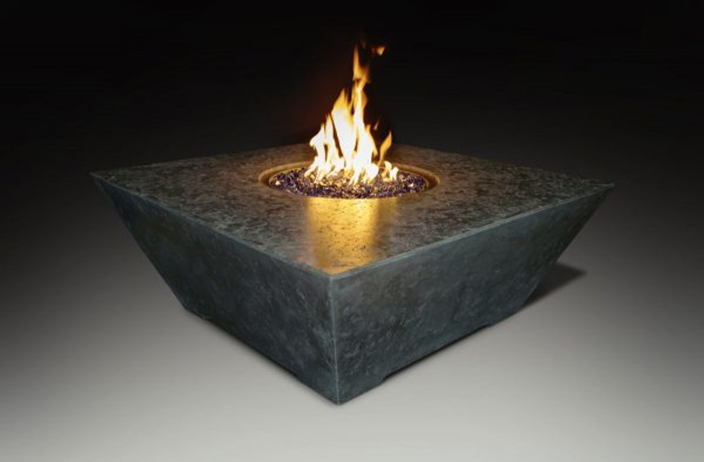 Athena Olympus Square Fire Pit Table