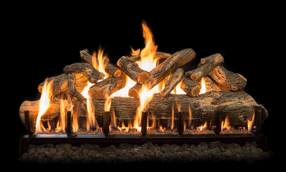 Arizona Weathered Oak Jumbo Gas Log Set