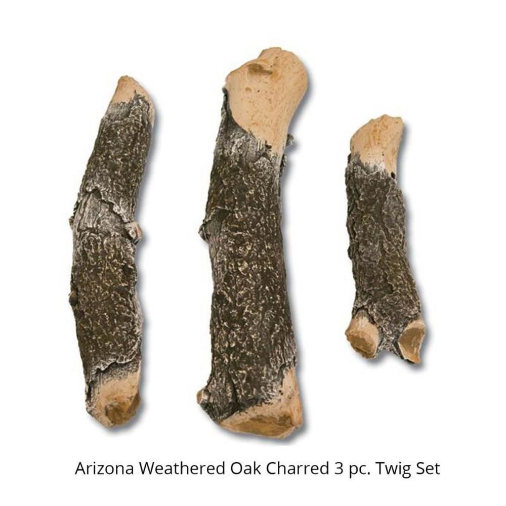 Grand Canyon 3 Piece Arizona Weathered Oak  Charred Twig Set