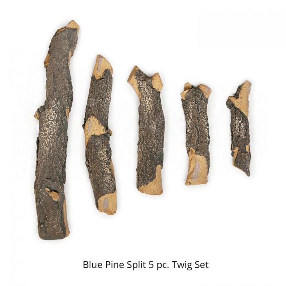 Grand Canyon 5 Piece Blue Pine Split Twig Set