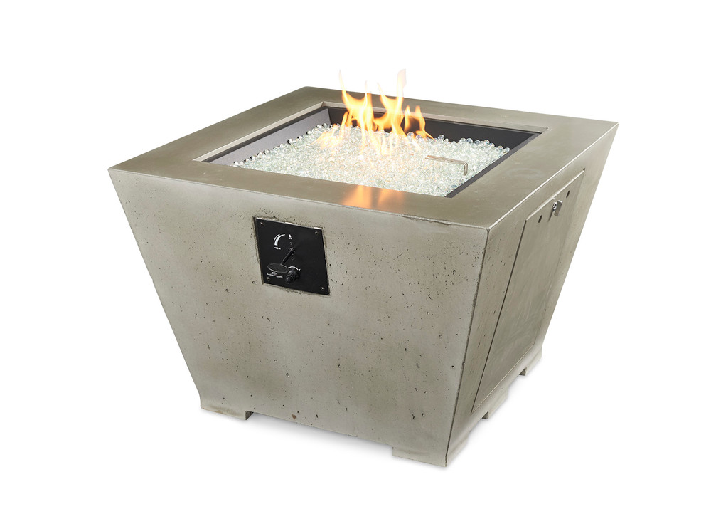 Outdoor Great Room Cove Square Gas Fire Pit Bowl
