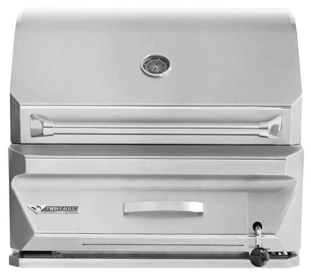 """Twin Eagles 30"""" Charcoal Grill"""