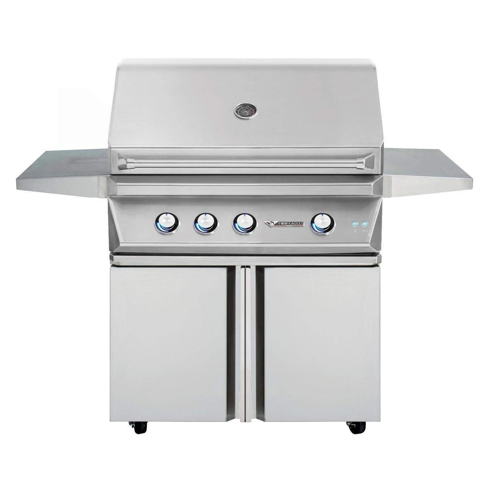 """Twin Eagles 36"""" Grill Base, Double Doors"""
