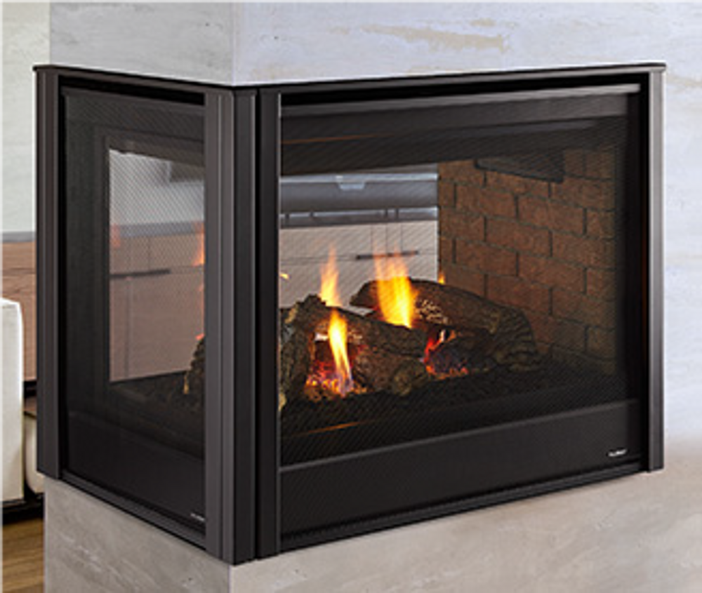 "Heatilator Peninsula 36"" Gas Fireplace"
