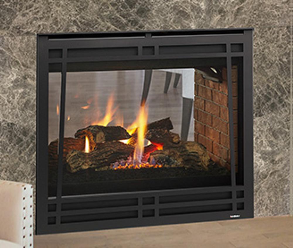 "Heatilator 36"" See-Through Gas Fireplace"