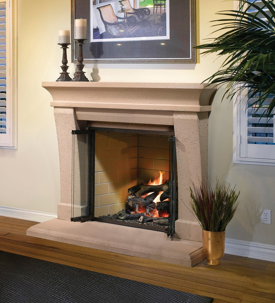 "Heatilator Birmingham 36"" Wood Fireplace"