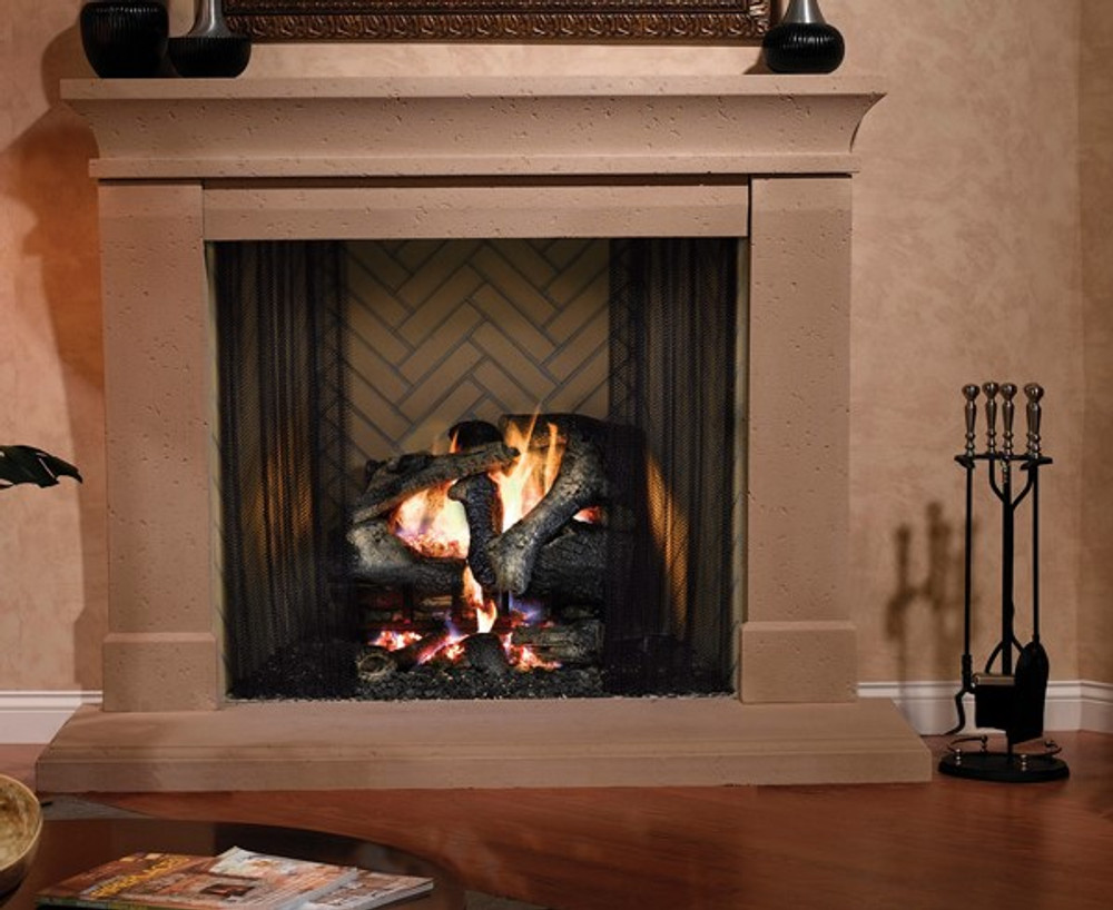 "Heatilator Birmingham 42"" Wood Fireplace"