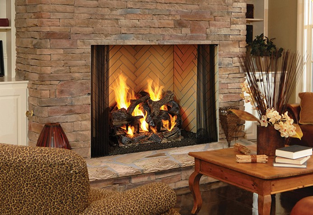 "Heatilator Birmingham 50"" Wood Fireplace"