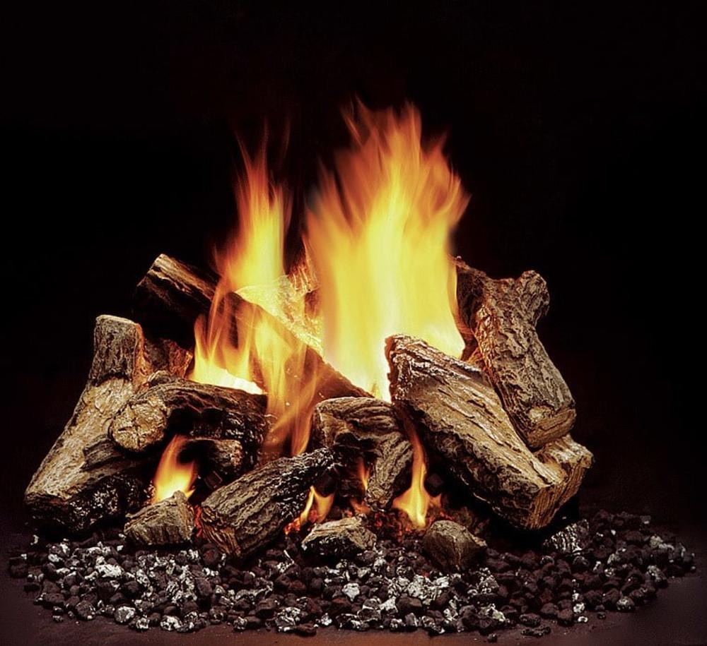 "Heatilator 18"" 8-Piece Duzy 5 Gas Log Set"