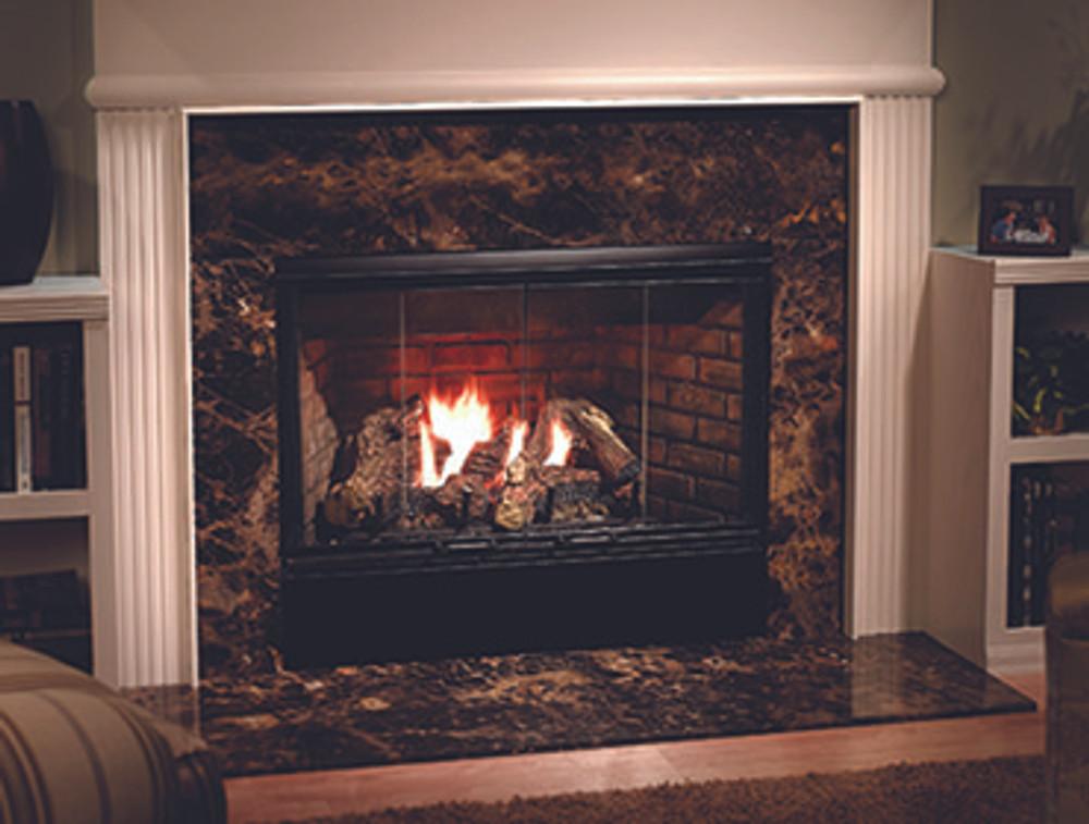 """Heatilator Reveal 36""""  Gas Fireplace"""