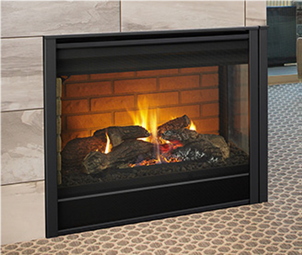 Hearth & Home Corner  Gas Fireplace
