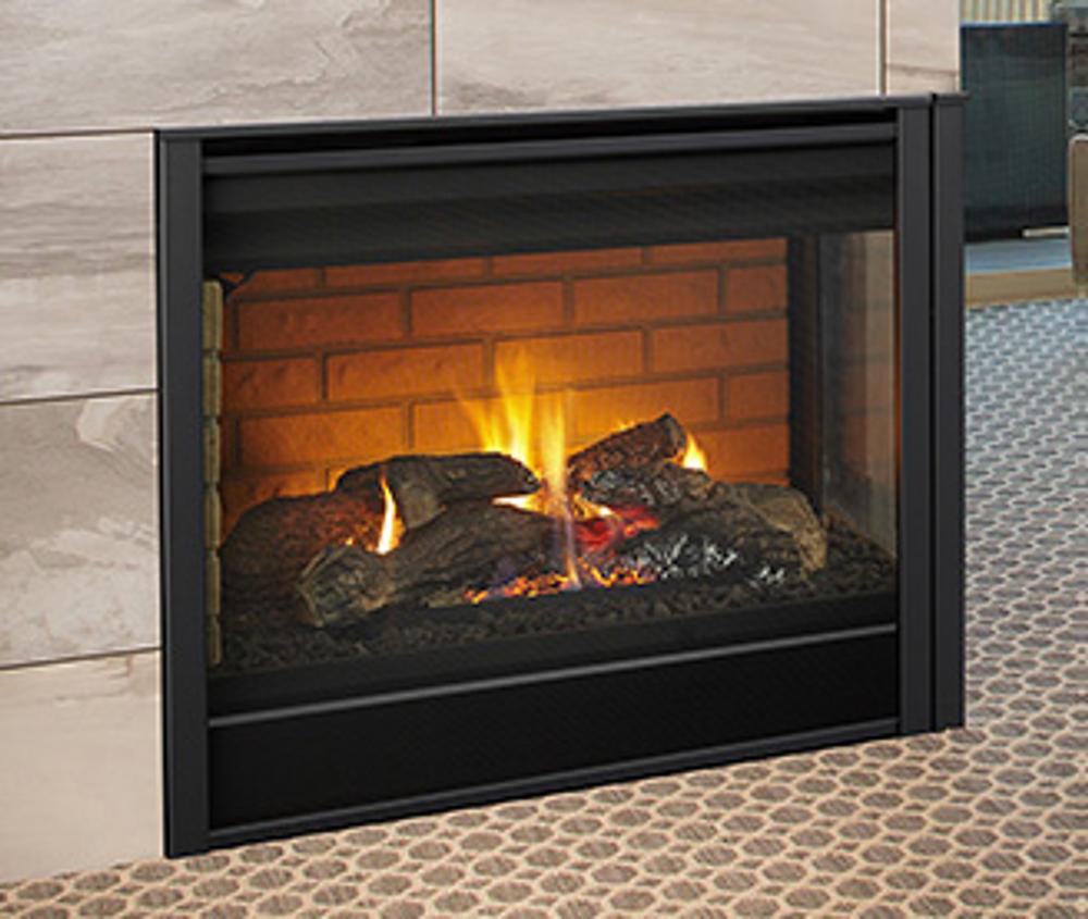 """Heatilator 36"""" Corner Gas Fireplace"""