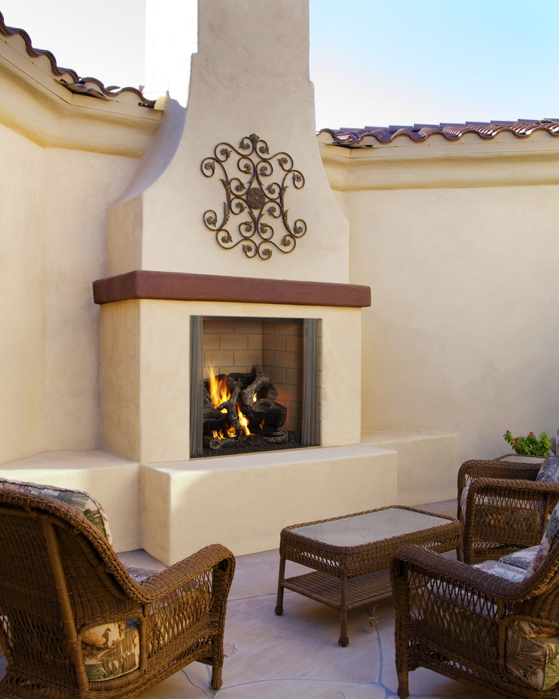 "Hearth & Home Castlewood 42"" Outdoor Gas Fireplace"