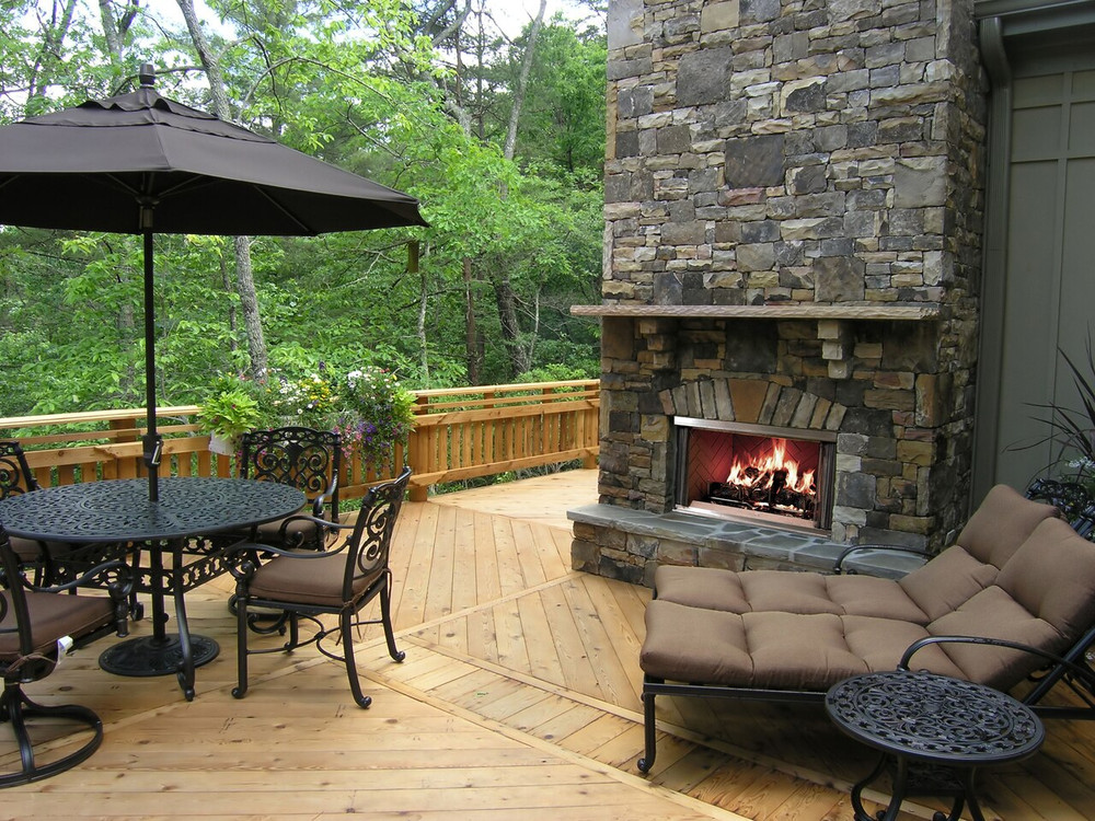 "Hearth & Home Montana 42"" Outdoor Wood Fireplace"
